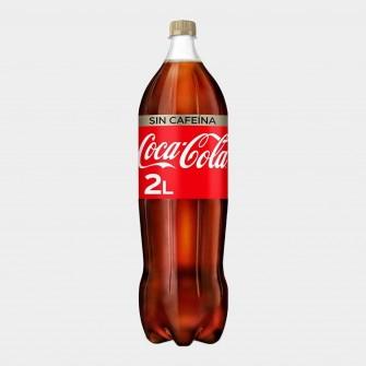 Coca Cola sin Cafeína 2L