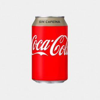Coca Cola sin Cafeína 33cl