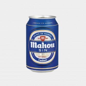 MAHOU SIN ALCOHOL LATA 33CL...