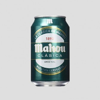 MAHOU CLASICA LATA 33CL...